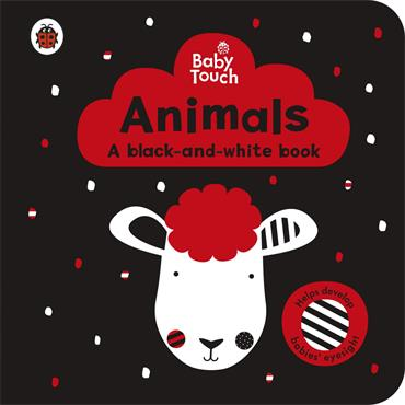 Ladybird Baby Touch: Animals: a black-and-white book