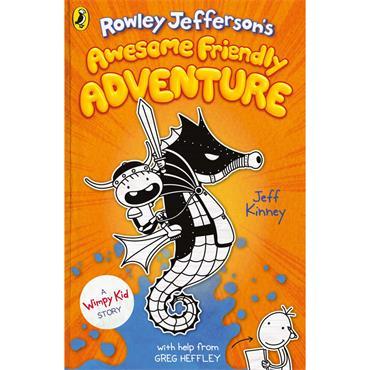 Jeff Kinney Rowley Jefferson's Awesome Friendly Adventure(Book 2)