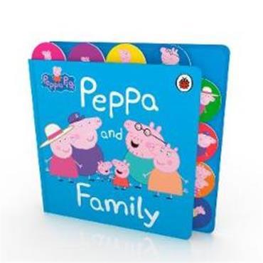 Peppa Pig Peppa Pig: Peppa and Family: Tabbed Board Book