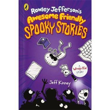 Jeff Kinney Rowley Jefferson's Awesome Friendly Spooky Stories