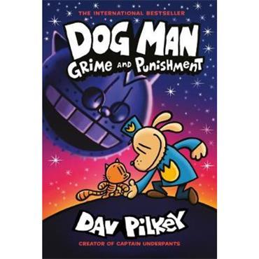 Dav Pilkey Dog Man: Grime and Punishment (Book 9)