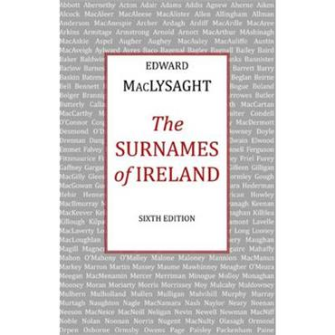 Edward MacLysaght The Surnames of Ireland