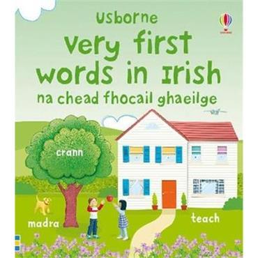 Dominika Boon & Felicity Brooks Very First Words in Irish