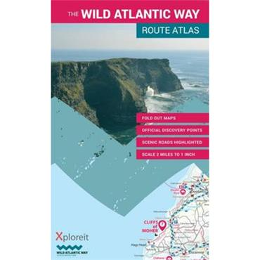 Mike Meagher The Wild Atlantic Way Route Atlas: Ireland's Journey West: 2015