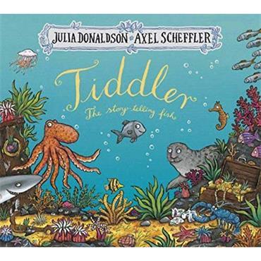 Julia Donaldson & Axel Scheffler Tiddler