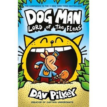 Dav Pilkey Dog Man: Lord of the Fleas (Dog Man Series, Book 5)