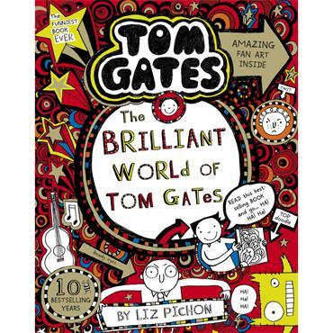 Liz Pichon The Brilliant World of Tom Gates (Book 1)