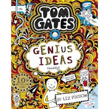 Liz Pichon Genius Ideas (Tom Gates, Book 4)