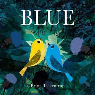 Britta Teckentrup Blue