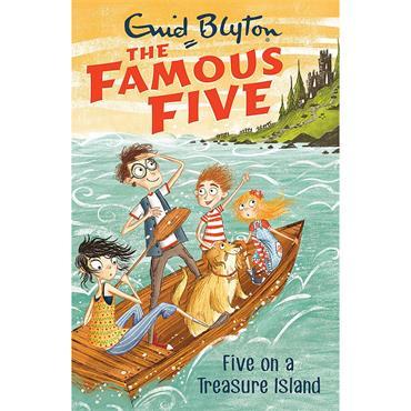 Enid Blyton Five on a Treasure Island (The Famous Five, Book 1)