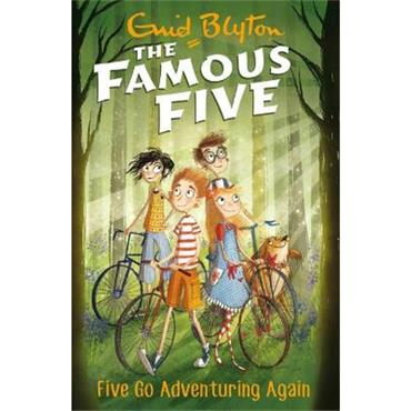 Enid Blyton Five Go Adventuring Again (The Famous Five, Book 2)