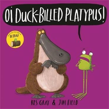 Kes Gray Oi Duck-billed Platypus!