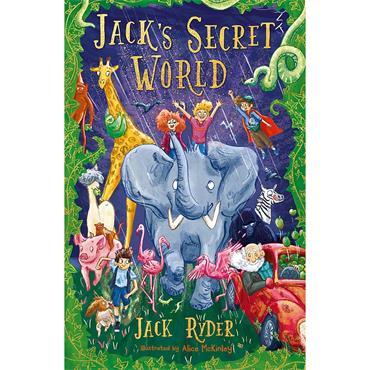 Jack Ryder Jack's Secret World
