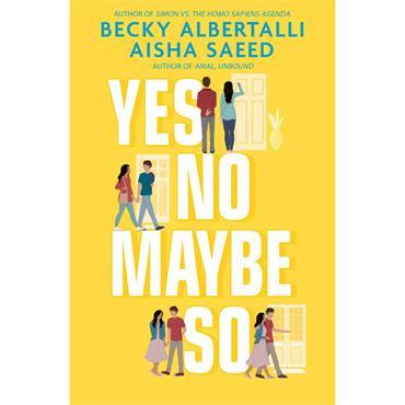 Becky Albertalli Yes No Maybe So