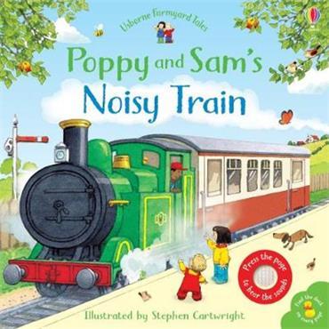 Sam Taplin Poppy and Sam's Noisy Train Book