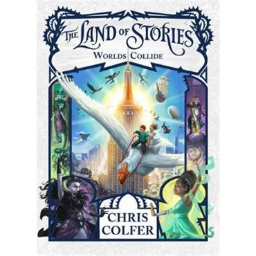 Chris Colfer Worlds Collide (Land of Stories, Book 6)