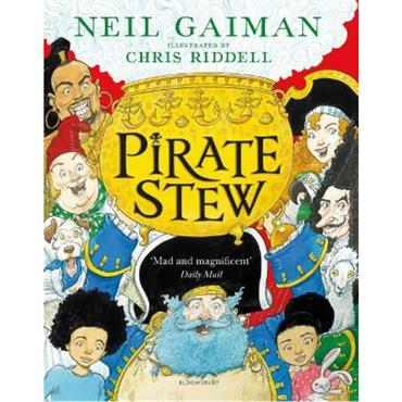 Neil Gaiman and Chris Riddell Pirate Stew
