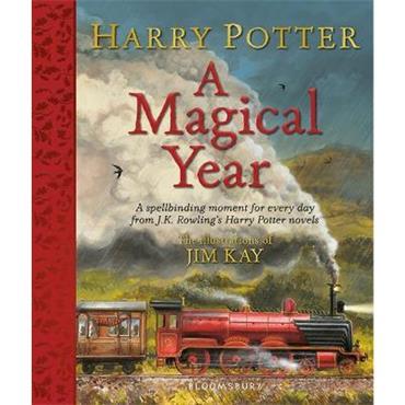 J. K. Rowling & Jim Kay Harry Potter - A Magical Year: The Illustrations of Jim Kay