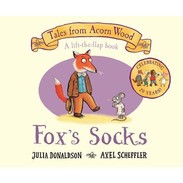 Julia Donaldson & Axel Scheffler Fox's Socks: 20th Anniversary Edition