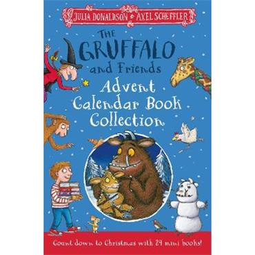 Julia Donaldson & Axel Scheffler The Gruffalo and Friends Advent Calendar Book Collection