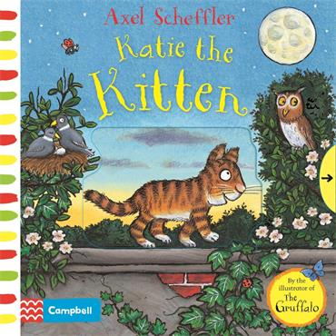 Campbell Books Katie the Kitten: A Push, Pull, Slide Book
