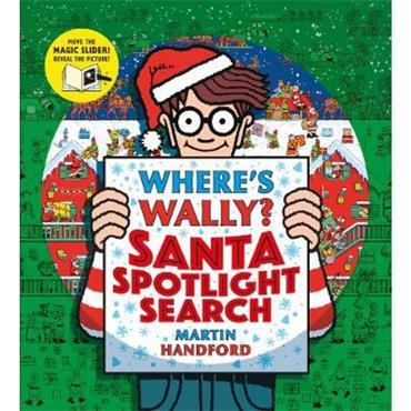 Martin Handford Where's Wally? Santa Spotlight Search