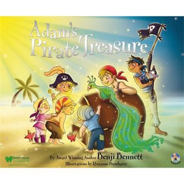 Benji Bennett  Adam's Pirate Treasure: Adam's Adventures: No. 4