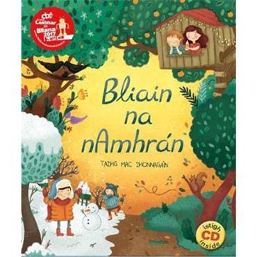 Tadhg Mac Dhonnagáin Bliain na  n- Amharán (le CD)