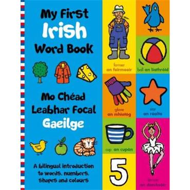 Tadhg Mac Dhonnagáin My First Irish Word Book (2021)