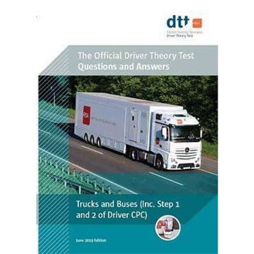 Department of Transport Driver Theory Test Book: Trucks and Buses Incl. Step 1 and Step 2