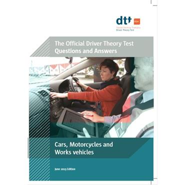 Department of Transport Cars, Motorcycles & Work Vehicles Driver Theory Test Book