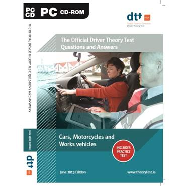 Department of Transport Cars, Motorcycles & Work Vehicles Driver Theory Test CD-ROM