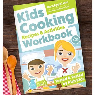Trisha Lenihan Kids Cooking Recipes & Activities Workbook