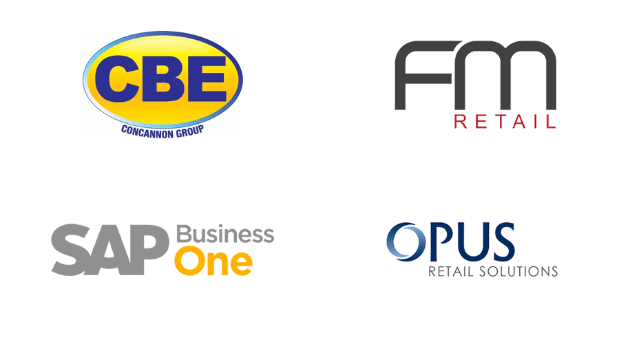 CBE, FM Retail, SAP Business One, Opus Retail Solutions