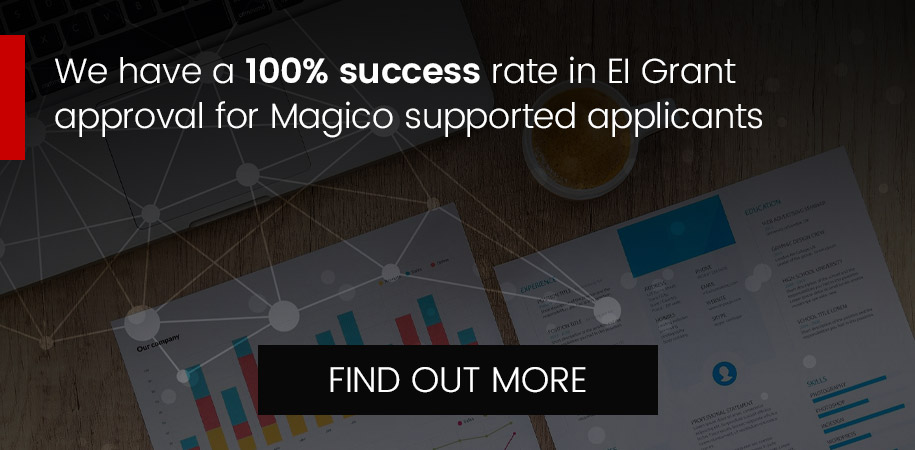 100% success rate in EI Grant approval - Find out more
