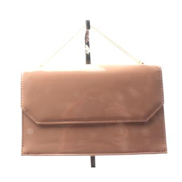 GLAMOUR CAMIE MATCH BAG - NUDE PATENT