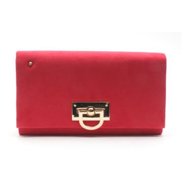 KATE APPLEBY BINGLEY CLUTCH BAG - RED