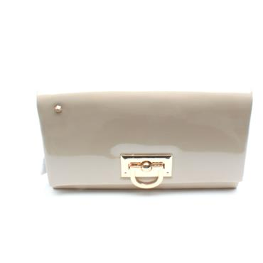 KATE APPLEBY BINGLEY CLUTCH BAG - NUDE