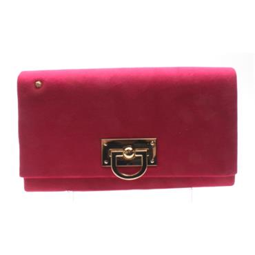 KATE APPLEBY BINGLEY CLUTCH BAG - FUSHSIA