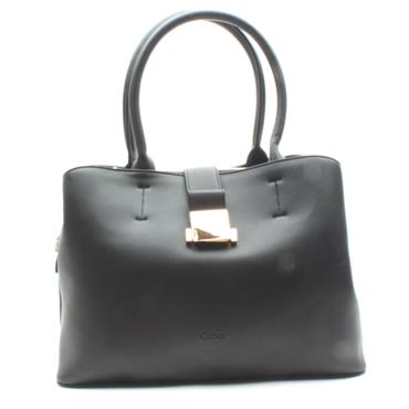 GABOR 8141 LIANA SHOPPER BAG - Black