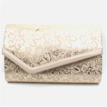 BARINO BG474 CLUTCH BAG - NUDE