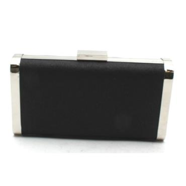 BARINO BG476 CLUTCH BAG - BLACK GLITTER