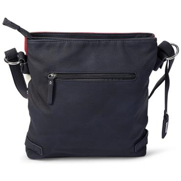 RIEKER H1346 HANDBAG - NAVY/RED