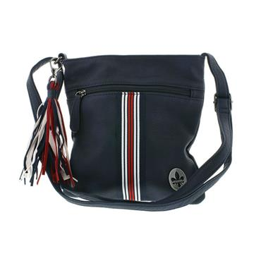 RIEKER H1012 HANDBAG - NAVY MULTI