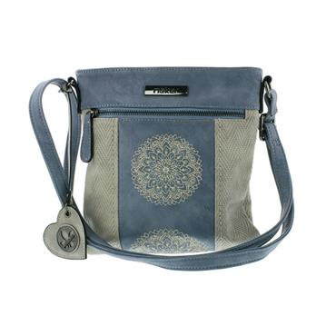 RIEKER H1016 HANDBAG - BLUE MULTI