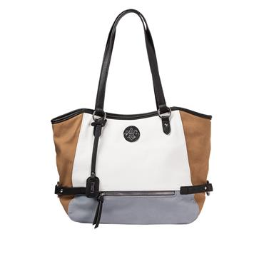 RIEKER H1066 HANDBAG - WHITE MULTI