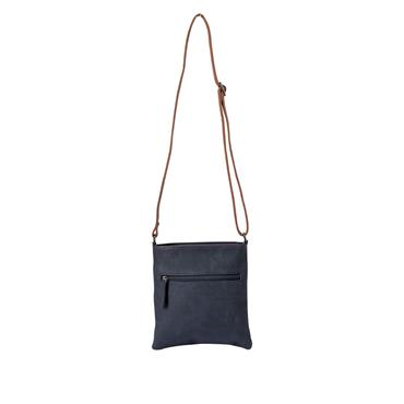 RIEKER H1023 CROSSBODY BAG - NAVY/RED