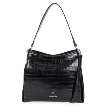 GIONNI 11G2362 SHOULDER BAG - Black