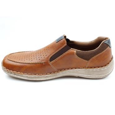 RIEKER 03077 SLIP ON SHOE - TAN