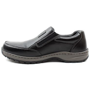 RIEKER 03354 SLIP ON SHOE - Black